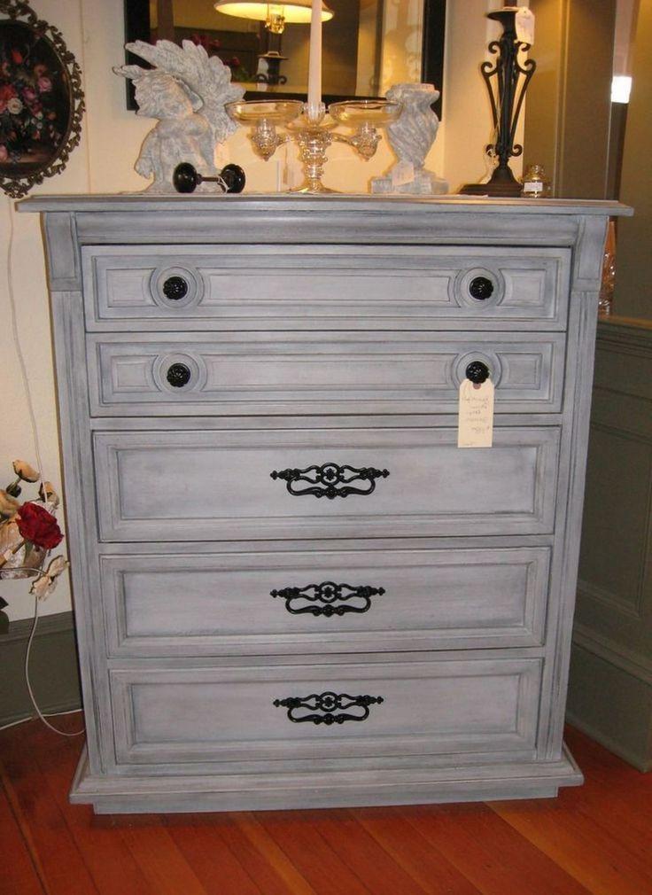 46 Marvelous Grey Chalk Paint Furniture Ideas Chalk Paint Furniture Chalk Furniture Gre Pintura A La Tiza Colores De Pintura De Tiza Muebles De Pintura De Tiza