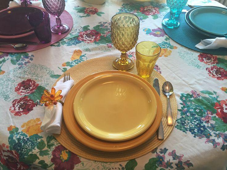 Fiesta dinnerware tablescape marigold and sunflower & Fiesta에 관한 102개의 최상의 Pinterest 이미지 | Fiesta ware Homer ...