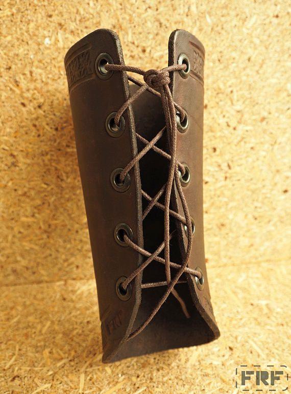 Best leather bracers ideas on pinterest