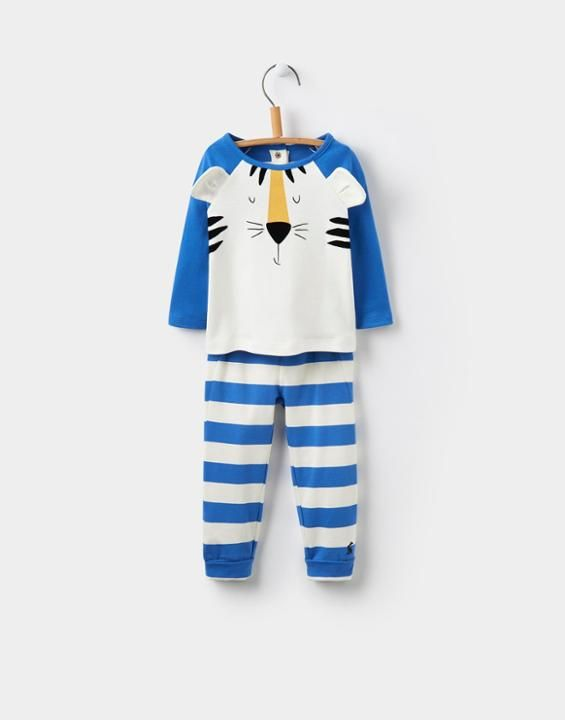Joules UK Mack Baby Boys Top and Bottoms Set