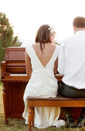 Wedding Music Piano Photography