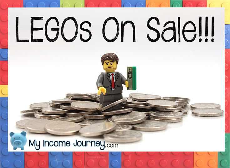 LEGOs so rarely go on sale that I had to post this NOW so you don't miss these awesome deals! Sales include Millennium Falcon, brick box, bulldozer, minecraft, and more! Check them out here http://www.myincomejourney.com/legos-on-sale/