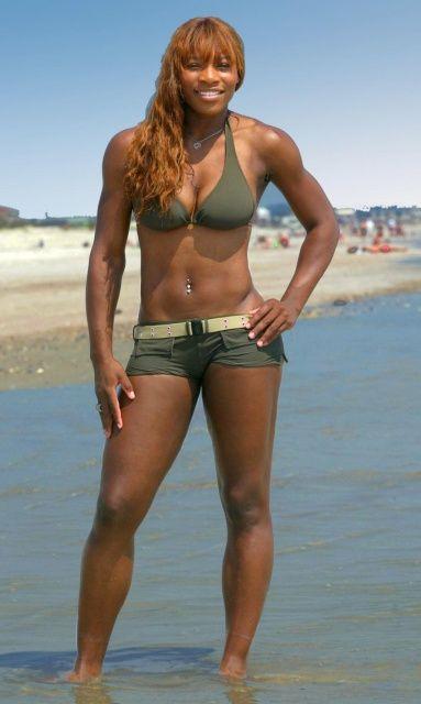 Serena venus williams bikini think, that