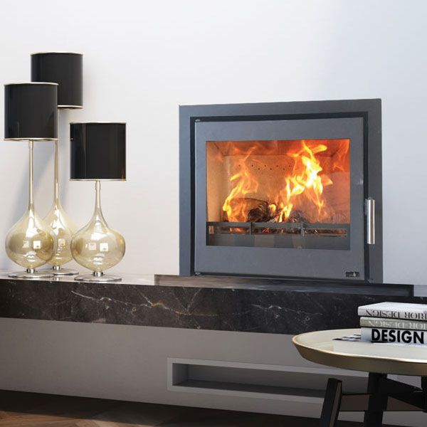 Henley Alvor 600 - 10kw Multifuel Wood Burning Cassette Stove