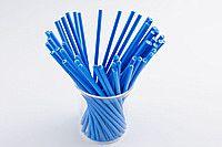 Палочки для кейк-попсов синие 50 штук - 30 грн