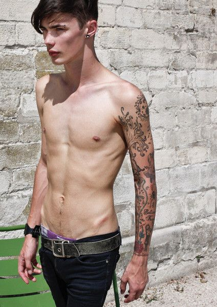 Black men's fashion, New trends and Men's fashion styles on Pinterest X Men Tattoo Sleeve