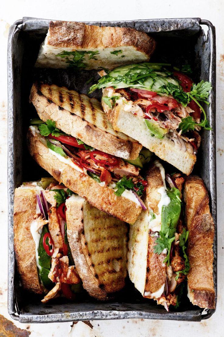 Grillatut lohisandwichit   Soppa365