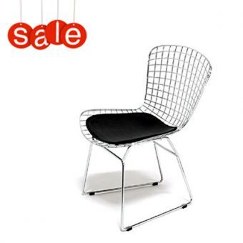 Sedia  Wire chair- design Harry Bertoia