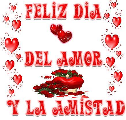 feliz dia del amor y la amistad imagenes   Feliz día de ...
