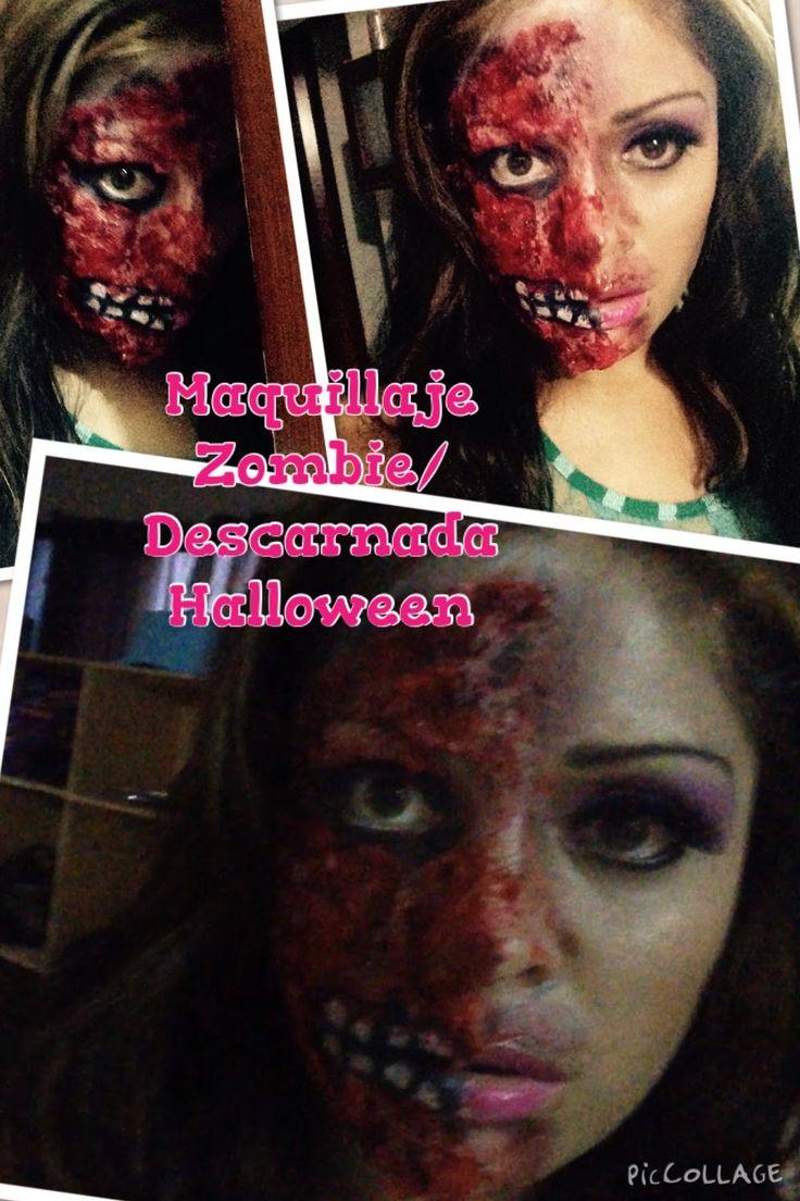 Zombie/ Descarnada con miel y papel higiénico fácil y sencillo Halloween...