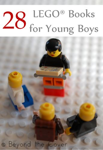 28 LEGO Books for Young Boys