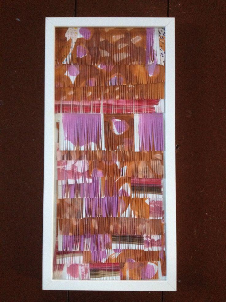 Sanna Vainionpää, power and balance, mixed Media,25,5 cm x 52,5 cm 2013