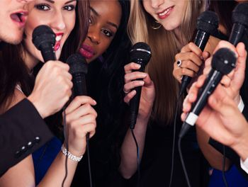 Karaoke Hen Party Package  Why is karaoke so much fun? Because girls just wanna have fun (sorry). But really, our Karaoke Hen Package is an activity for a fun loving bride to be. It gives her a great chance to de-stress ahead of the big day and let loose as she belts out some karaoke classics while sipping on a round of Cocktails in The Garavogue bar.