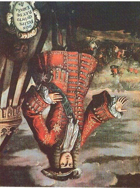Felip V, el Borbó que ens va cremar en 1707