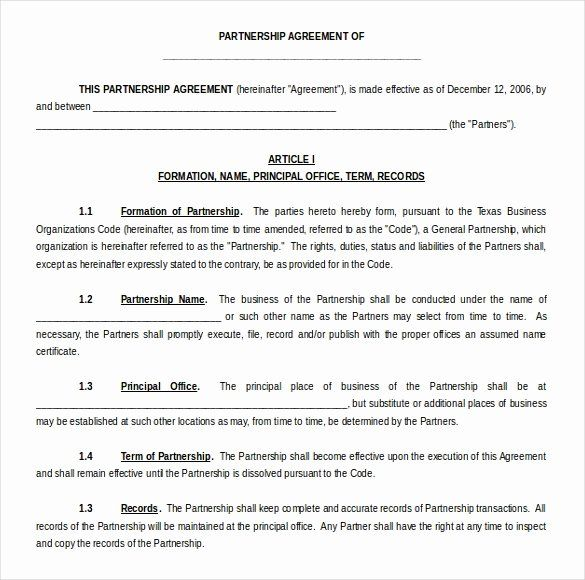 Pin On Agreement Templates Design