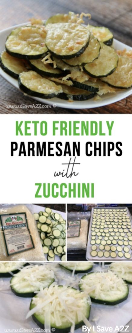 30 Amazing Keto Snacks For Weight Loss: Zucchini Parmesan Chips By I Save A2Z. T…