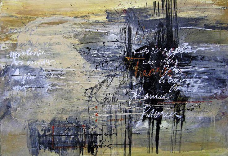 Das Bildliche der #Schrift http://www.badische-zeitung.de/kunst-1/das-bildliche-der-schrift #Kunst