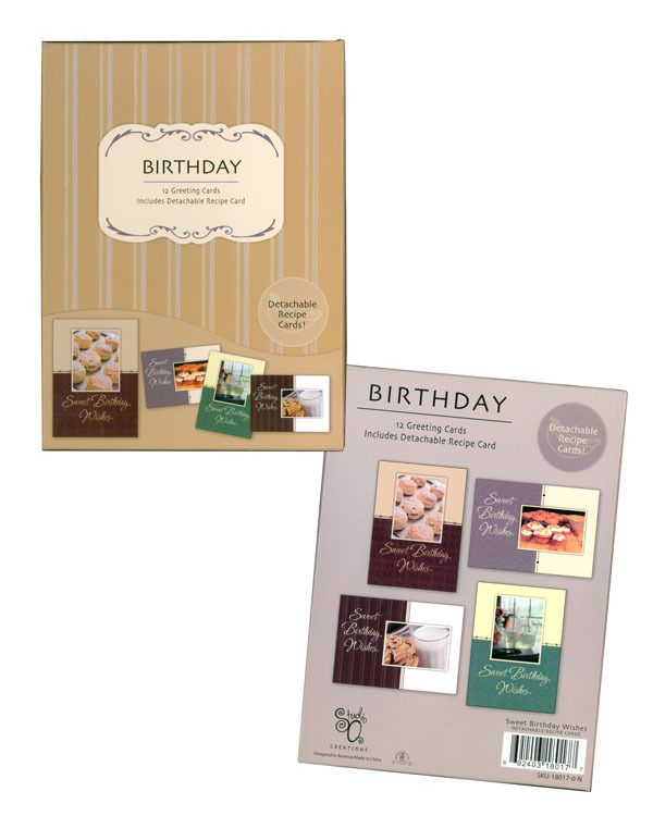 15 best Birthday Cards from Fravessi images – Boxed Birthday Card Assortment