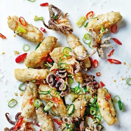 Salt and pepper squid | Jeremy Pang Recipes | Chinese Recipes - Red Online