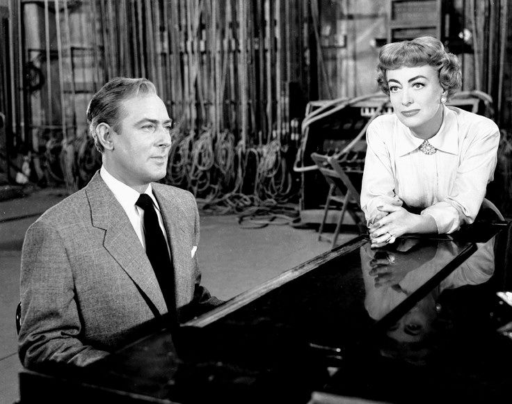 Michael Wilding and Joan Crawford - Torch Song