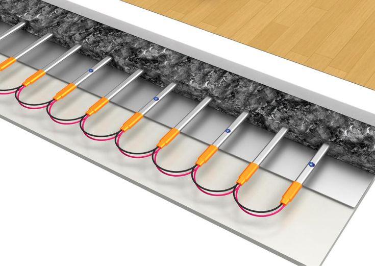 Jaké podlahy jsou vhodné na podlahové topení ?  Výběr vhodných dřevěných, dýhových, vinylových a laminátových podlah