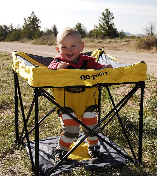 Baby camping gear...may come in handy
