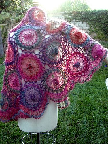 Hairpin-Lace-Shawl by YarnJourney, via Flickr