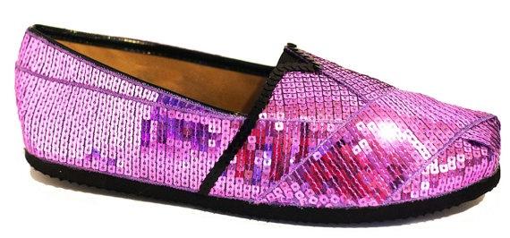 SIZE 7 Lilac Purple Sequin Canvas Alpargata by princesspumps, $34.00: Purple Sequins, 34 00, Canvas Alpargata, Saia Mini-Sequins, Toms Shoes, Pink Sequins, Sequins Toms, Sequins Canvas, Alpargata Classic
