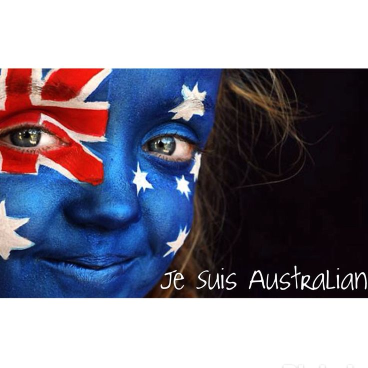 I am Australian, we share our colours with many countries, I think of France now too when I see our colours and of their brave people standing up for their freedom this month, so this year for Australia Day Je Suis Australian as a tribute to them and I am Australian and so proud to be.