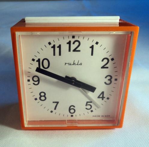 Ruhla alarm clock Ruhla Uhren gehen nach wie vor!