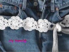 Hip Belt And Purse By Aly Hymel - Free Crochet Pattern - (daintycrochet)