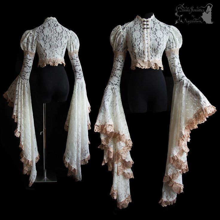 Yay for big sleeves Inpired by Art Nouveau fashion, adjusted to own design. For all about my designs, see: www.somniaromanti… ^^