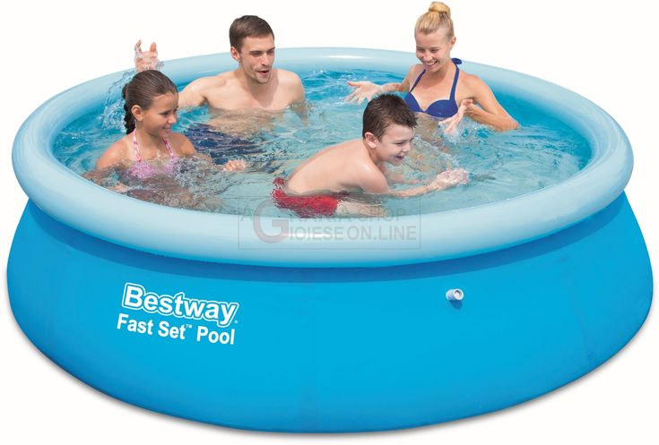 BESTWAY 57265 PISCINA AUTOPORTANTE FAST SET CM. 244x51h. http://www.decariashop.it/piscine-autoportanti/20795-bestway-57265-piscina-autoportante-fast-set-cm-244x51h.html