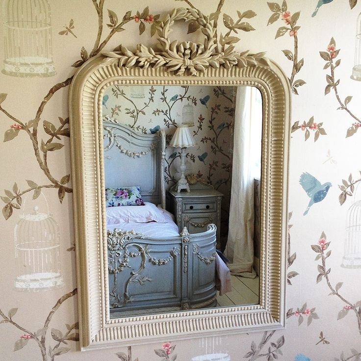 Apollo Wall Mirror  |  Small / Wall Mirrors  |  Mirrors & Screens  |  French Bedroom Company