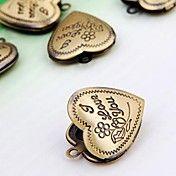 Vintage Charms bronz Inima medalioane Pandant... – EUR € 1.83