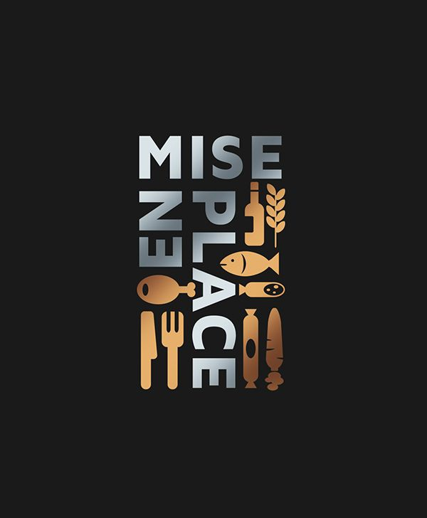 MISE en PLACE logo on Behance
