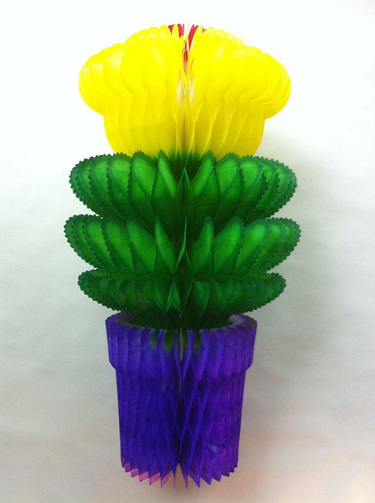 Concertina Flower Pots we love themX @Laura Scott Niñas Textiles