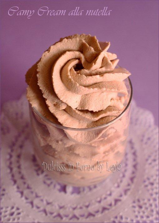 camy cream alla nutella crema alla nutella senza uova  poco dolce  al mascarpone e  crema per farcire