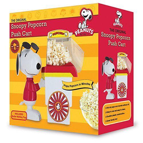 Snoopy Popcorn Push Cart