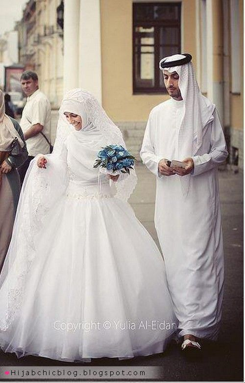 Beautiful Hijabi Brides | Hijab Chic