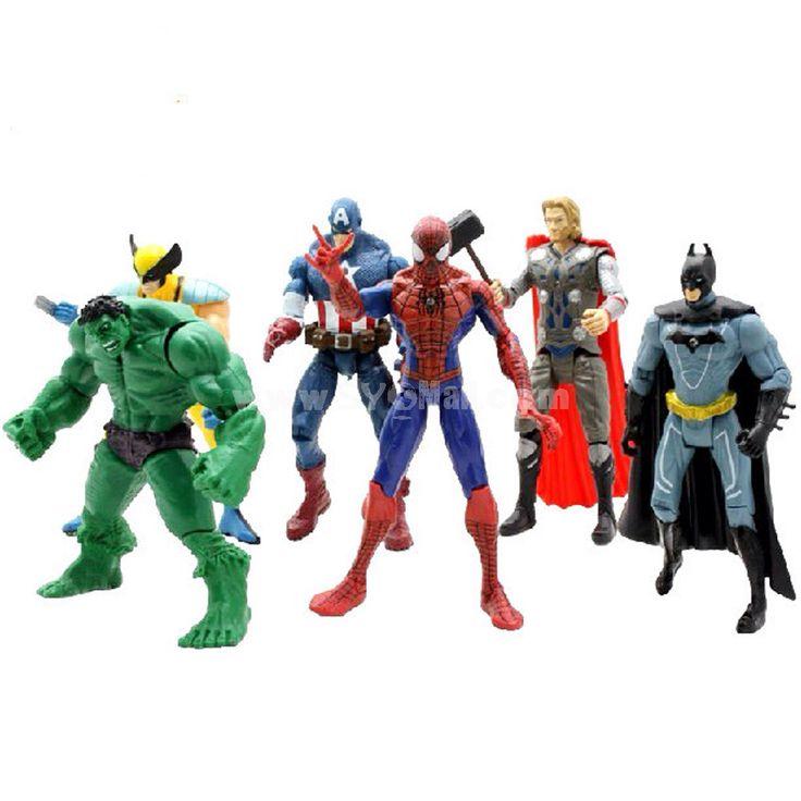 Avengers actionfigurer