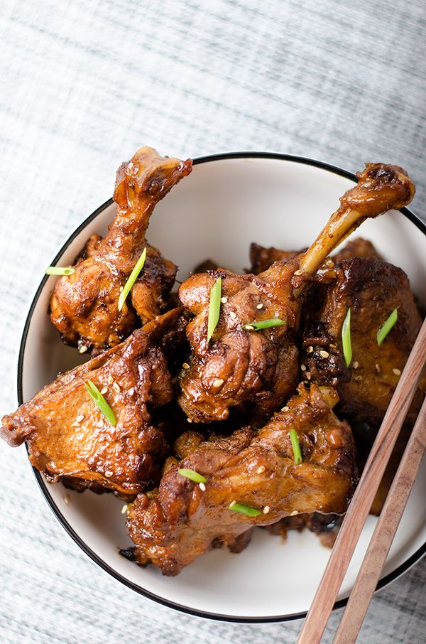 Mom's Best Braised Duck Leg | omnivorescookbook.com