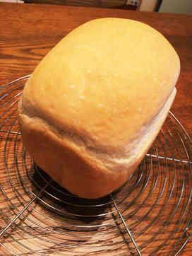 しっとりふわふわのホームベーカリー食パン。はちみつ&牛乳パワーすごい♡焼き立てパンでみんな朝からニッコニコ*^^*
