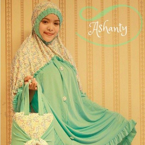Mukena Cantik Ashanty Tosca, Mukena Terbaru - Muslim Online Shop | Yukbisnis