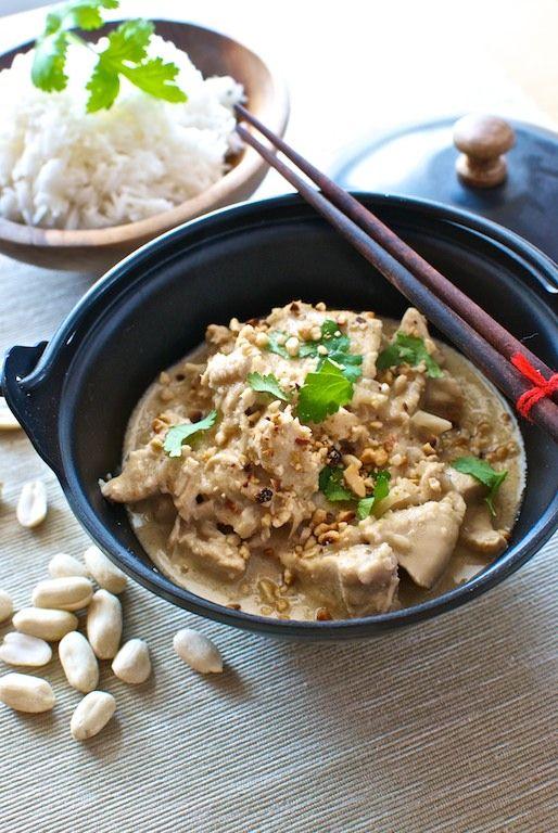 Curry de pollo con cacahuetes, receta tailandesa con Thermomix « Thermomix en el mundo