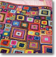 a beautiful blanket: Crochet Blankets, Ideas, Colors, Crochet Squares, Crochet Baby Blankets, Granny Squares, Babette Blankets, Crochet Pattern, Blankets Pattern