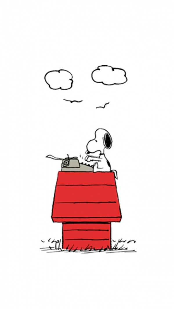 Snoopy before email.