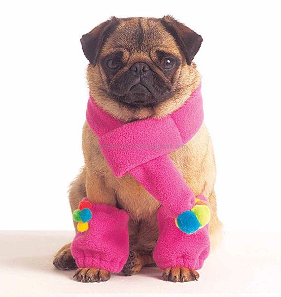 DIY Dog Coat Leg Warmers  McCall's 5776 by YourSewingBasket, $5.95  #sewing #pets