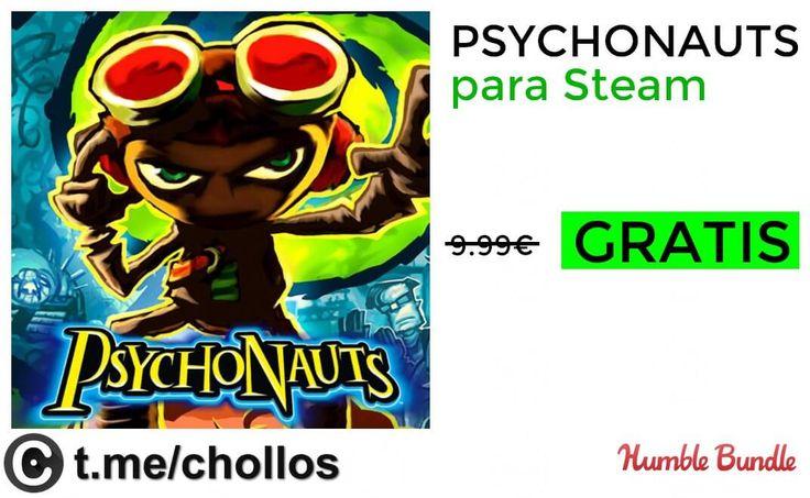Videojuego Psychonauts GRATIS para Steam - http://ift.tt/2y1GBUW