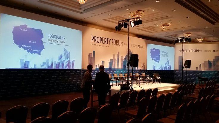 #PropertyForum about to start